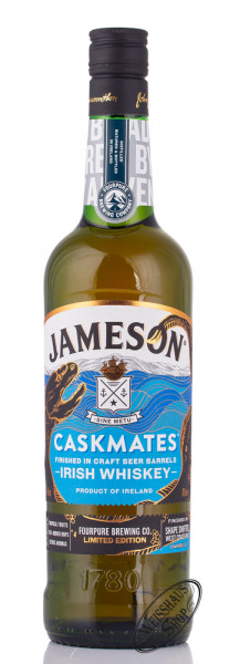 Jameson Caskmates Fourpure Limited Edition Whiskey 40% vol. 0,70l