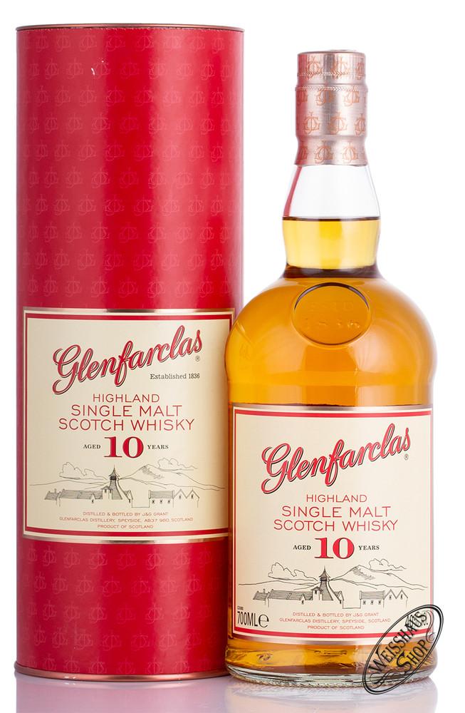Glenfarclas 10 YO Whisky 40% vol. 0,70l