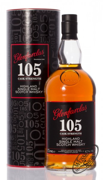 Glenfarclas 105 Single Malt Whisky 60% vol. 1,0l