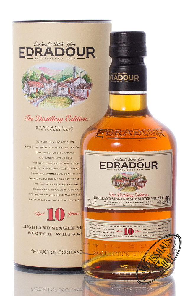 Edradour 10 YO Highland Whisky 40% vol. 0,70l