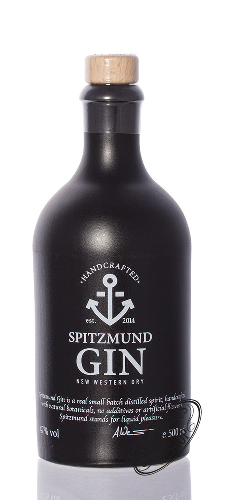 Spitzmund New Western Dry Gin 47% vol. 0,50l