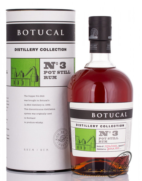 Botucal TDC Batch No. 3 Pot Still Rum 47% vol. 0,70l
