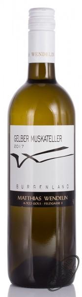 Wendelin Gelber Muskateller 2017 12% vol. 0,75l