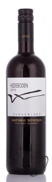 Wendelin Cuvée Heideboden 2015 14% vol. 0,75l