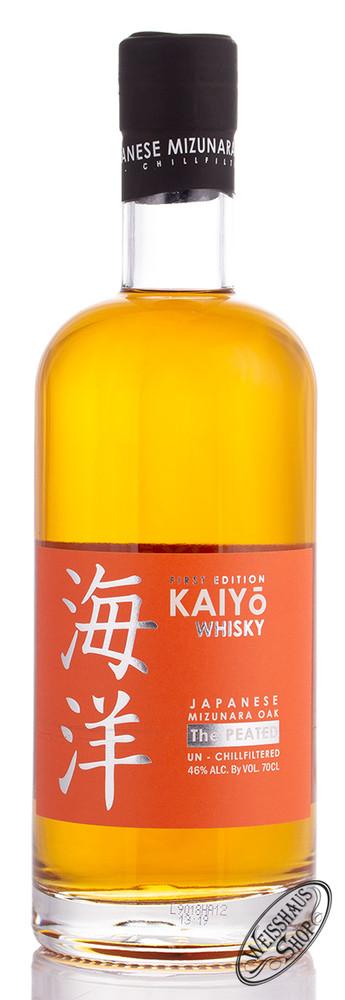 KAIYO Peated Japanese Mizunara Oak Whisky 46% vol. 0,70l
