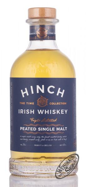 Hinch Peated Single Malt Irish Whiskey 43% vol. 0,70l