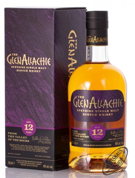 Glenallachie 12 YO Single Malt Whisky 46% vol. 0,70l