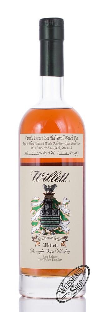 Willett Family Estate Rye 3 YO Whisky 55,7% vol. 0,70l