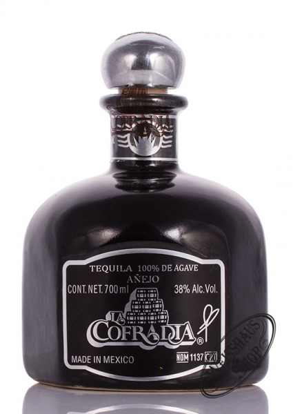 La Cofradia Tequila Anejo Single Barrel 38% vol. 0,70l