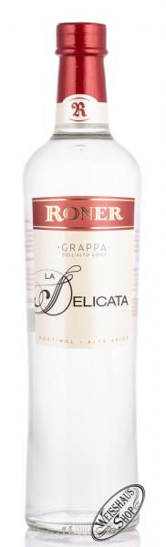 Roner Grappa La Delicata 40% vol. 0,70l
