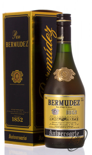 Bermudez Ron Anejo Aniversario 12 YO Rum 40% vol. 0,70l