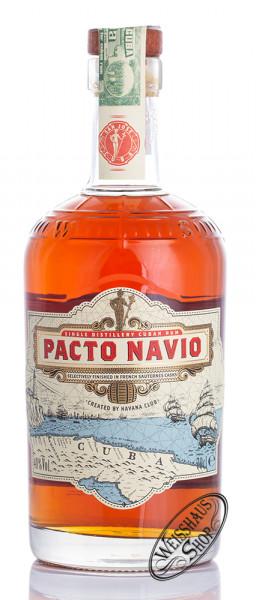 Havana Club Pacto Navio Rum 40% vol. 0,70l