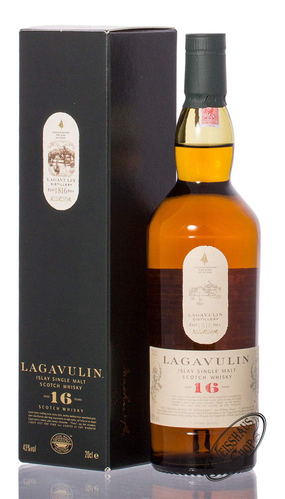 Lagavulin 16 YO Islay Whisky 43% vol. 0,20l