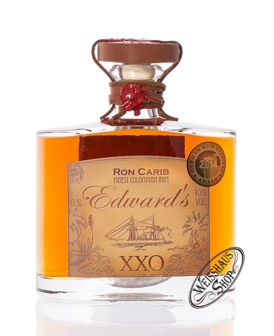 Ron Carib Edward's 21 YO XXO Rum 40% vol. 0,50l