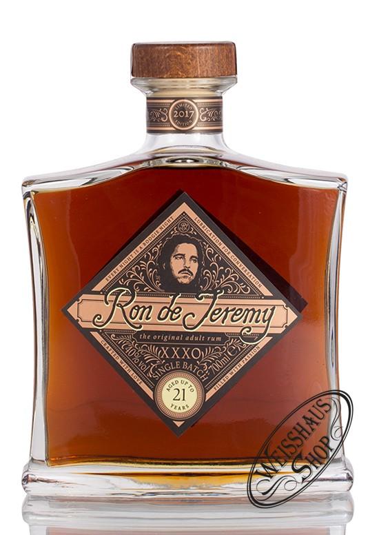 Ron de Jeremy XXXO Solera 21 YO Rum 40% vol. 0,70l