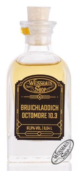 Bruichladdich Octomore 10.3 Islay Barley Whisky 61,3% vol. 0,04l Weisshaus Sample