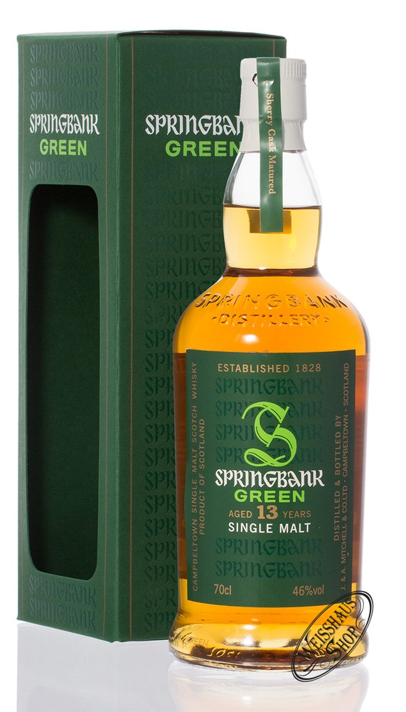 Springbank 13 YO Green Whisky 46% vol. 0,70l