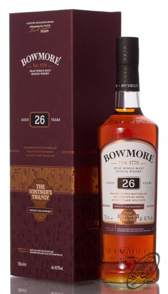 Bowmore 26 YO Wine Barrique Cask Whisky 48,7% vol. 0,70l