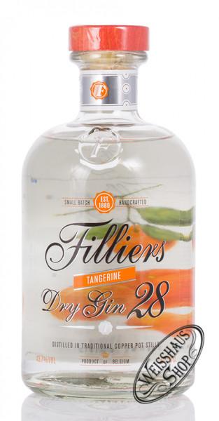 Filliers Dry Gin 28 Tangerine 43,7% vol. 0,50l