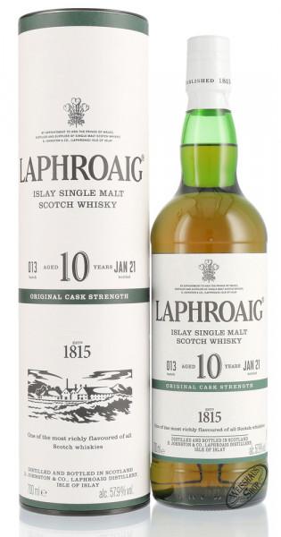 Laphroaig 10 YO Cask Strength Batch 13 Whisky 57,9% vol. 0,70l