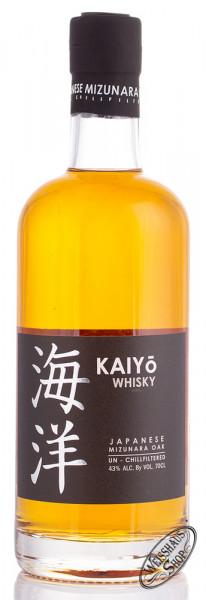 KAIYO Signature Japanese Mizunara Oak Whisky 43% vol. 0,70l