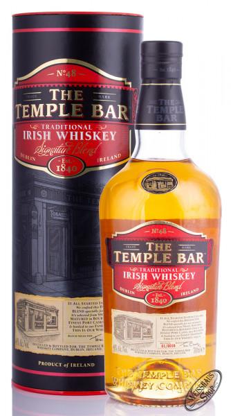 The Temple Bar Signature Blend Irish Whiskey 40% vol. 0,70l