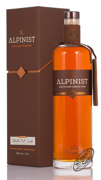 The Alpinist White Port Single Cask Rum 58,8% vol. 0,70l