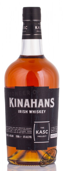 Kinahan's Kasc Project Irish Whiskey 43% vol. 0,70l