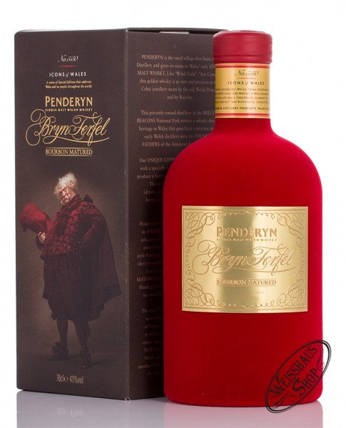 Penderyn Icons of Wales Bryn Terfel Whisky 41% vol. 0,70l