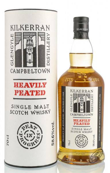 Kilkerran Heavily Peated Batch 4 Single Malt Whisky 58,6% vol. 0,70l