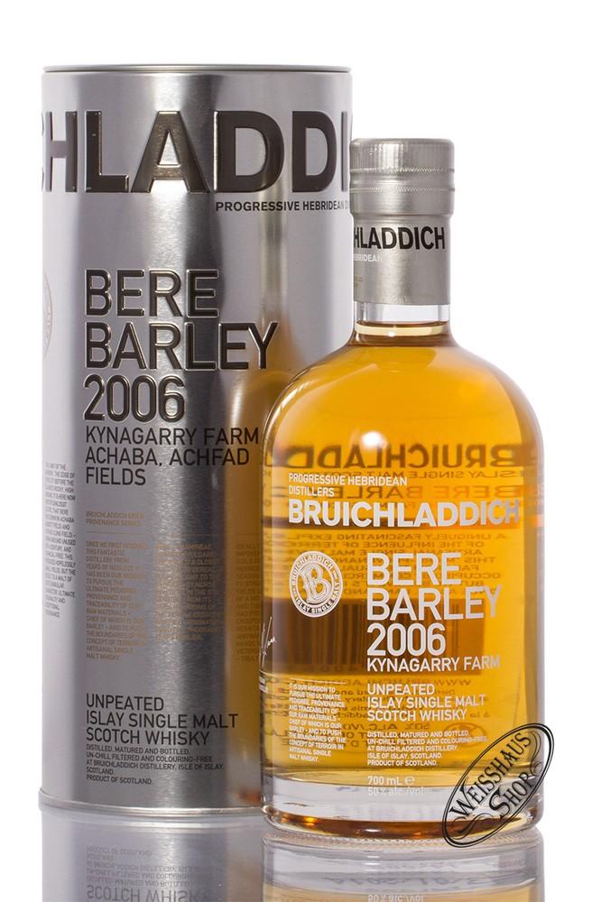 Bruichladdich Bere Barley 2006 Islay Whisky 50% vol. 0,70l