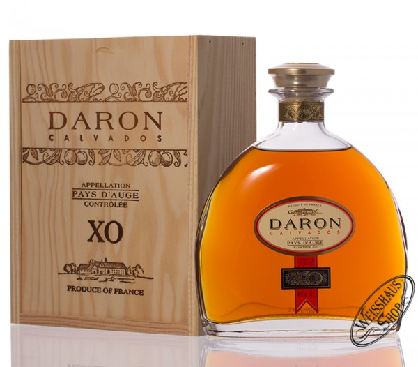 Daron Calvados XO Pay's d'Auge 40% vol. 0,70l