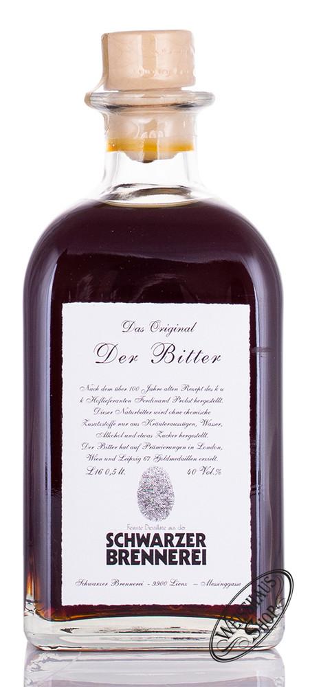 Schwarzer Der Bitter 40% vol. 0,50l