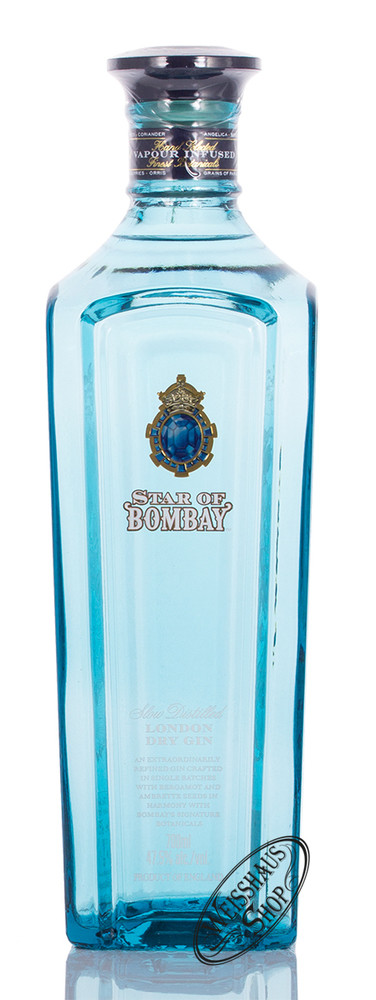 Bombay Sapphire Star of Bombay Gin 47,5% vol. 0,70l