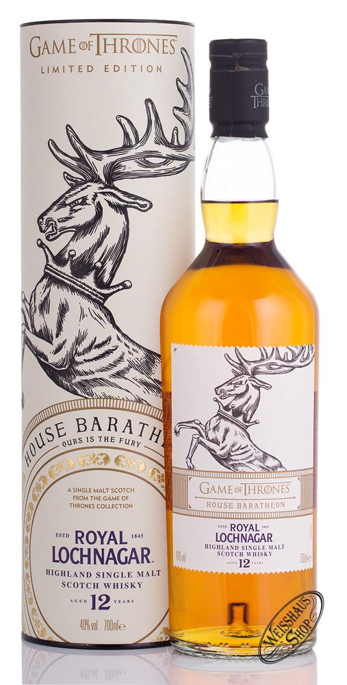Royal Lochnagar Game of Thrones Edition Whisky 40% vol. 0,70l