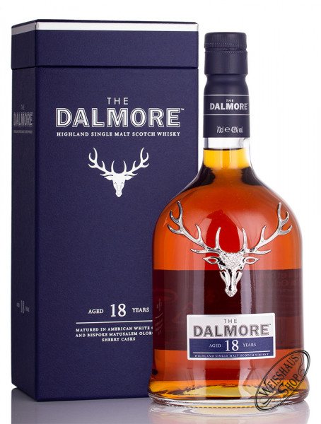 The Dalmore 18 Years Old Single Malt Scoch Whisky 43% vol. 0,70l