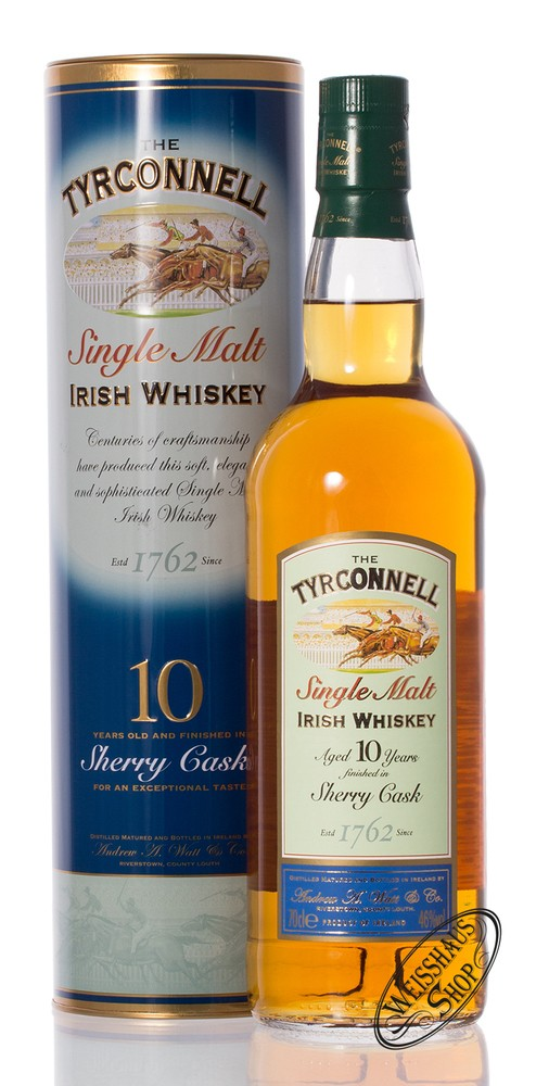 Tyrconnell 10 YO Sherry Cask Finish Whiskey 46% vol. 0,70l