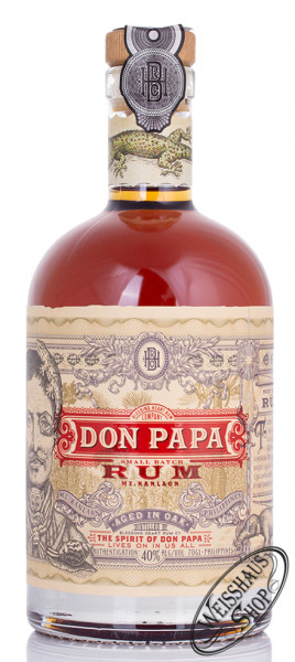 Don Papa Rum 40% vol. 0,70l