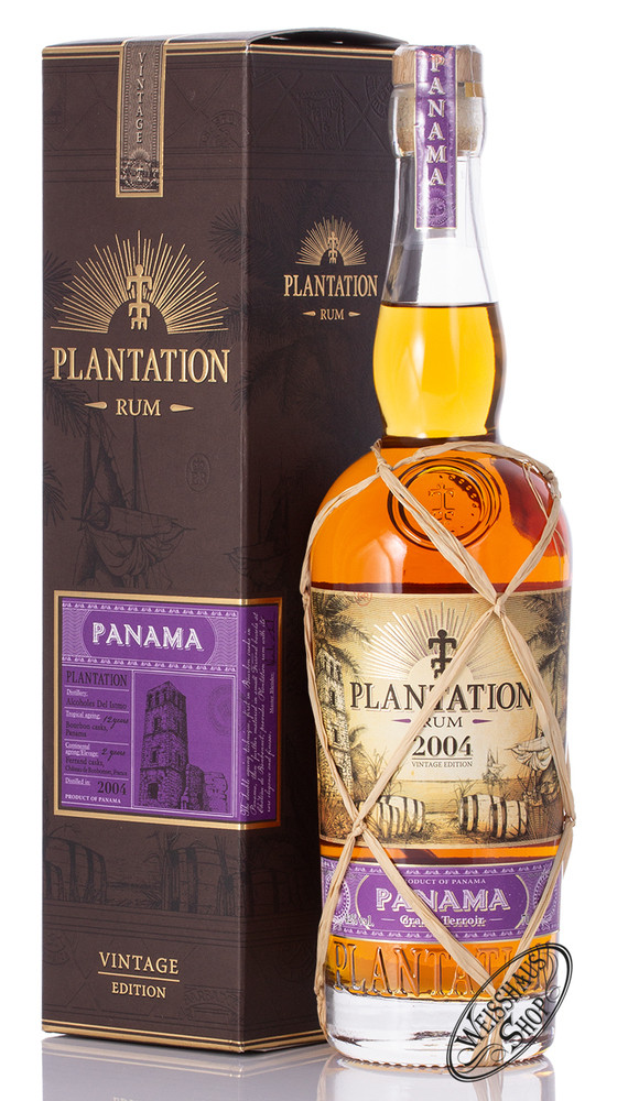Plantation Rum Panama 2004 Vintage 42% vol. 0,70l