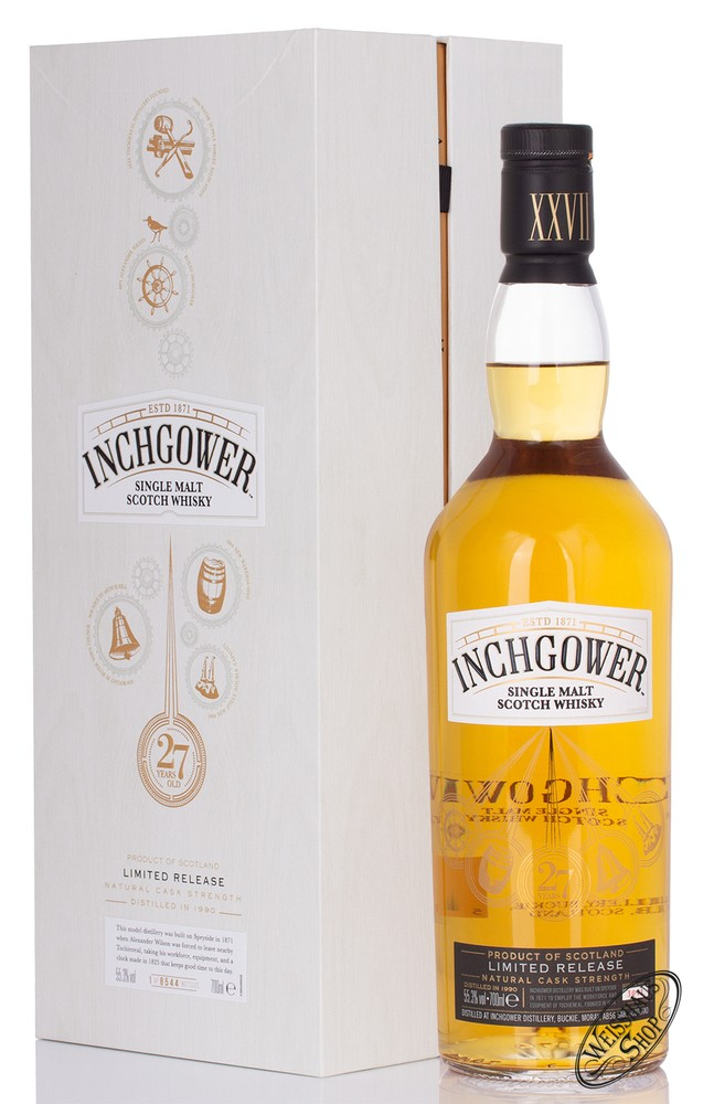 Inchgower 27 YO Special Release 2018 Whisky 55,3% vol. 0,70l