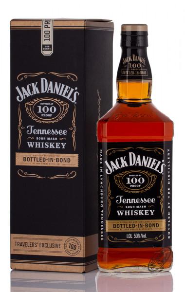 Jack Daniel's Bottled in Bond 100 Proof Whiskey 50% vol. 1,0l