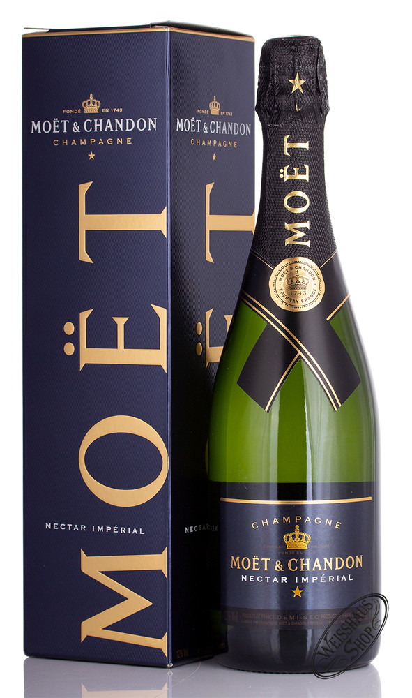 Moet & Chandon Nectar Imp�rial Champagner 12,5% vol. 0,75l