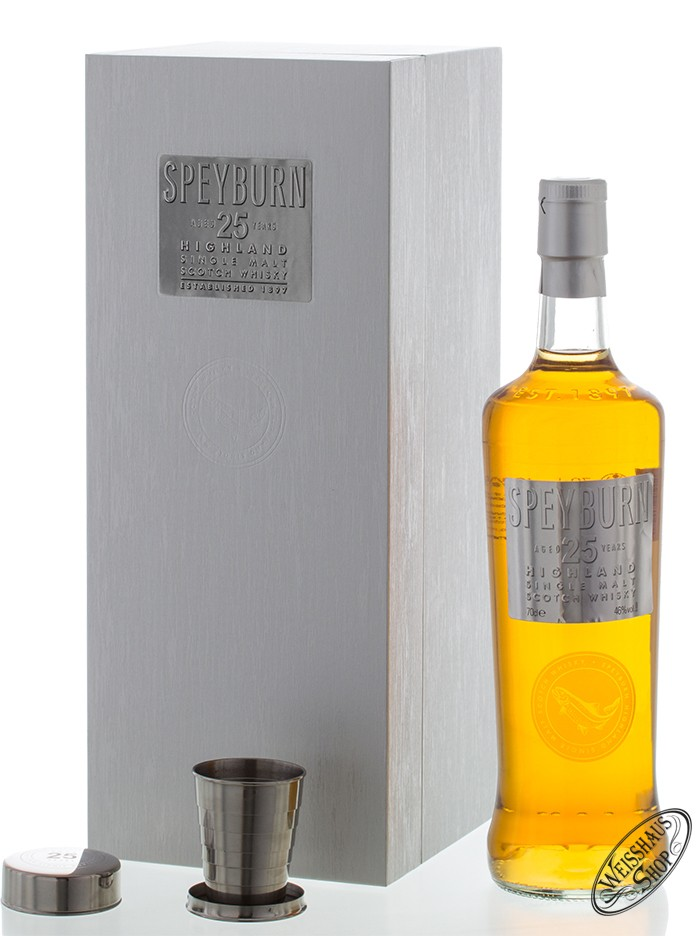 Speyburn 25 YO Whisky 46% vol. 0,70l