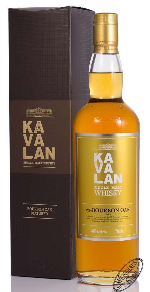 Kavalan ex-bourbon Oak Single Malt Whisky 46% vol. 0,70l