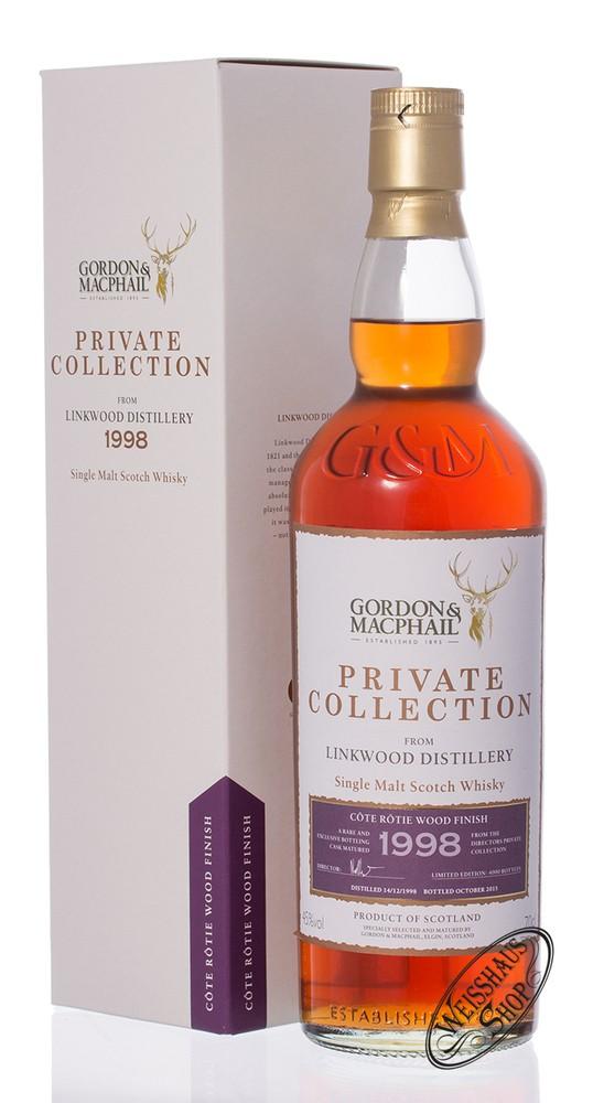 Linkwood Vintage 1998 Gordon & MacPhail Whisky 45% vol. 0,70l