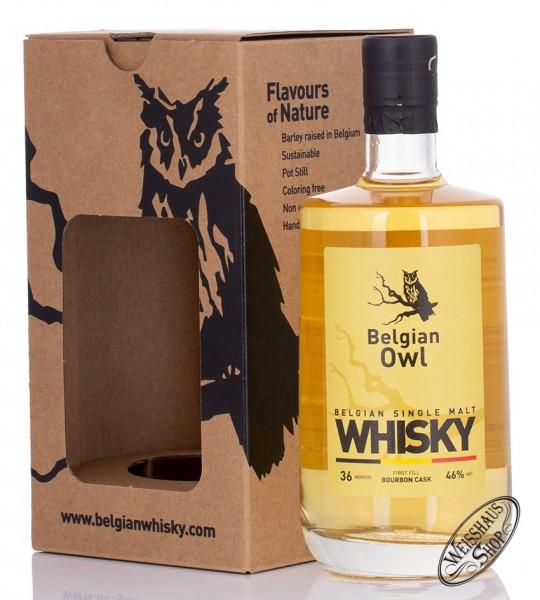 Belgian Owl 3 YO Whisky 46% vol. 0,50l