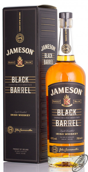 Jameson Black Barrel Irish Whiskey 40% vol. 0,70l
