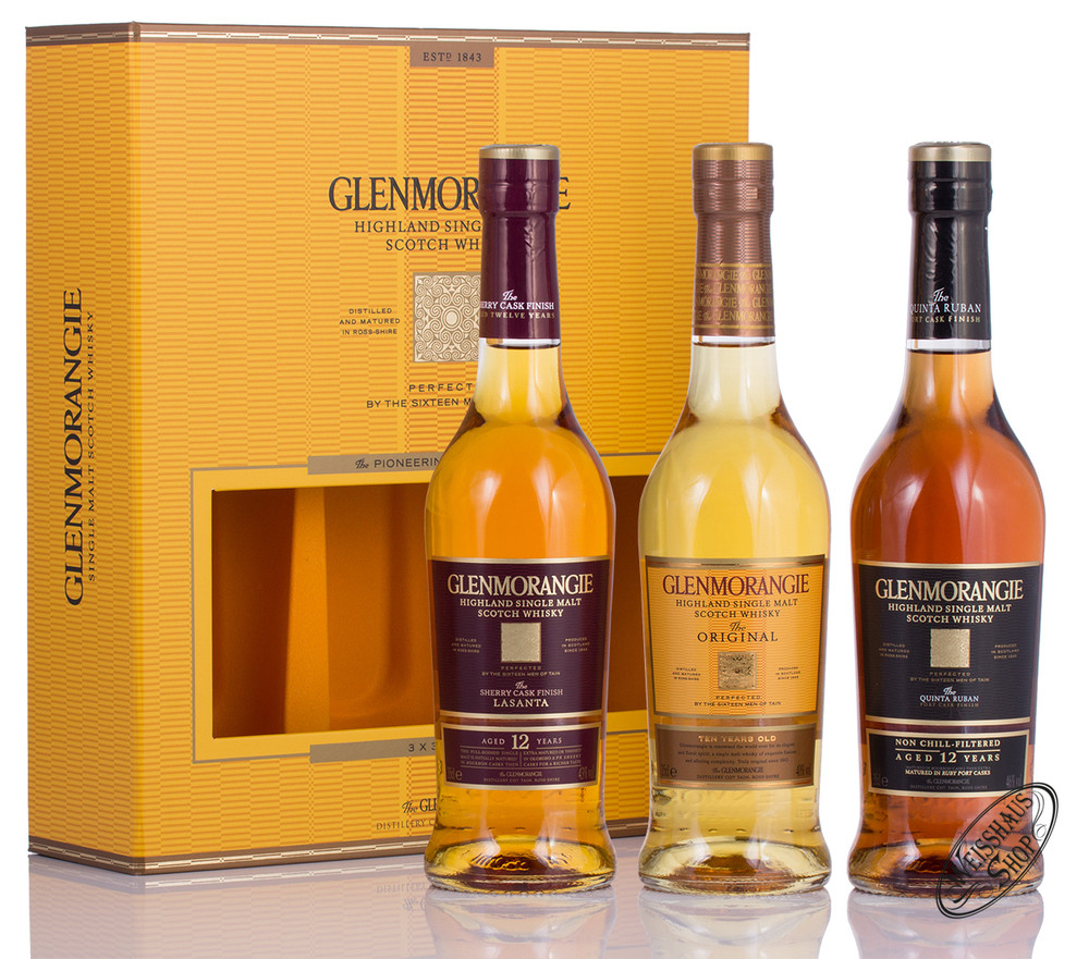 Glenmorangie Whisky Tasting Set 3 x 0,35l