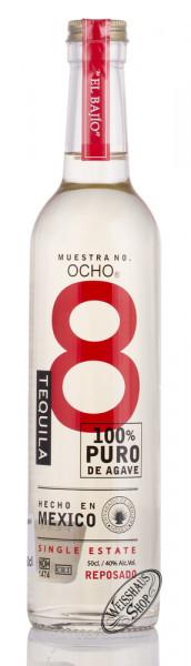 OCHO El Bajio Reposado Tequila 40% vol. 0,50l