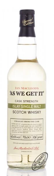 McLeod As We Get It! Islay Single Malt Whisky 60,6% vol. 0,70l